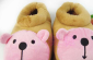 批发 高帮可爱小熊全包跟保暖棉拖鞋 2012款男女家居鞋