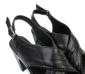 夏季新款真皮女鞋 罗马高跟凉鞋 水钻防水台鱼嘴女凉鞋