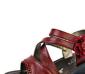 真皮牛皮女鞋 坡跟魔术贴凉鞋 花朵水钻凉鞋 舒适妈妈鞋
