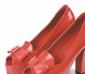 2012春季爆款甜美淑女漆皮纯色鱼嘴凉鞋厚底防水台蝴蝶结粗跟女鞋