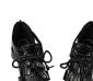 真皮牛皮新款女鞋 罗马流苏高跟凉鞋 绑带防水台坡跟鱼嘴鞋